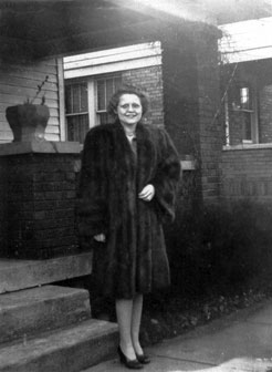 Dennis May's mother's November 10, 1945 purchase