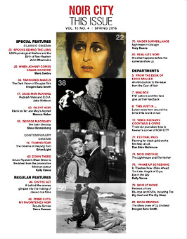 NOIR CITY E-Mag Fall 2015 Table of Contents